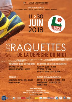 Affiche Tournoi Open USSPA Tennis